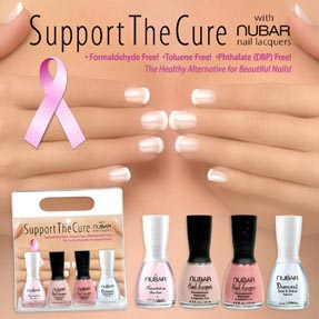 nubar support the cure set