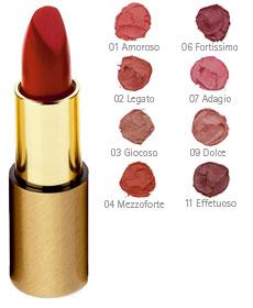 dr. hauschka lipstick swatches