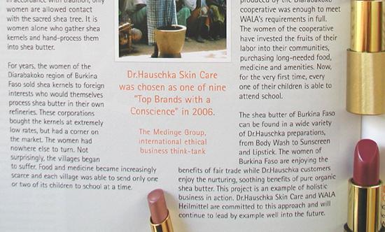 dr. hauschka lipstick