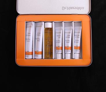 dr. hauschka dry skincare kit