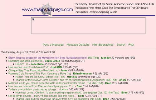 lipstick page cgi board