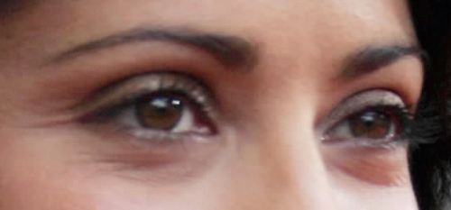 salma hayek eyes