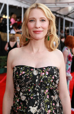 cate blanchett at the 14th annual sag awards
