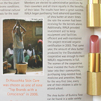 dr. hauschka #09 lipstick Dolce