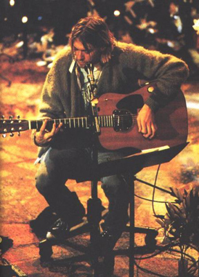 Flannel Shirts Cardigan Sweater Kurt Cobain 28