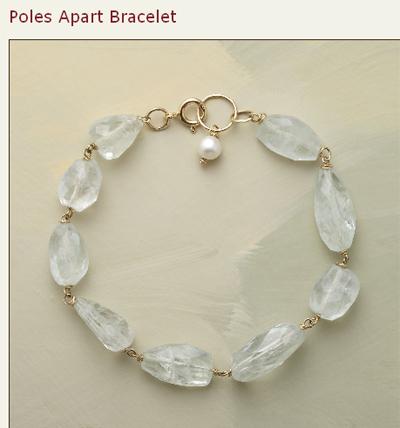 sundance aquamarine bracelet
