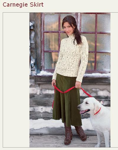 sundance catalog carnegie skirt