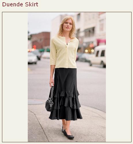 sundance duende skirt