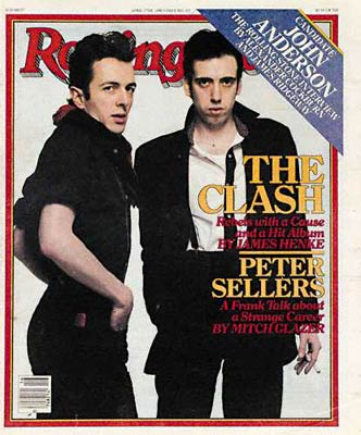 the clash on the cover of rolling stone magazine