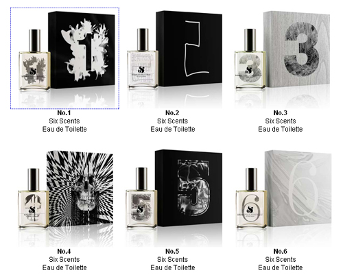 six scents at aedes.com