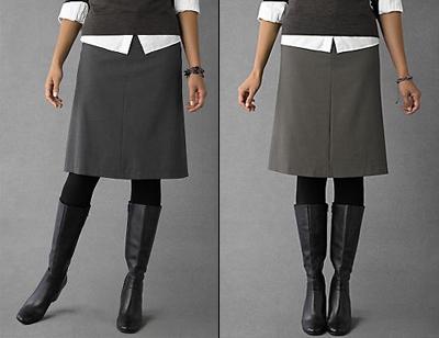 narrow skirt