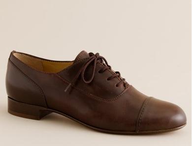 jcrew oxford shoe