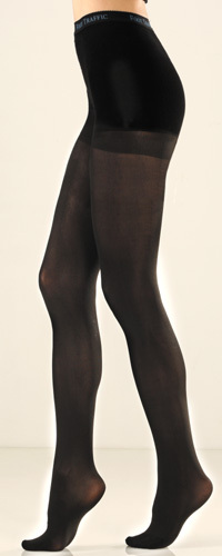 cotton and nylon tights