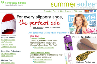 summer soles