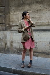 the sartorialist shirtdress image