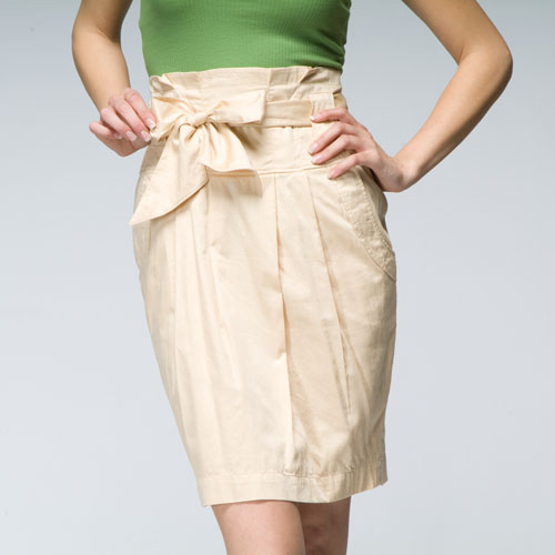 tulle paper bag skirt