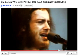joe cocker the letter live 1970