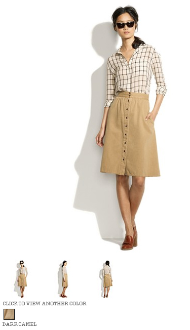 madewell dune trail skirt