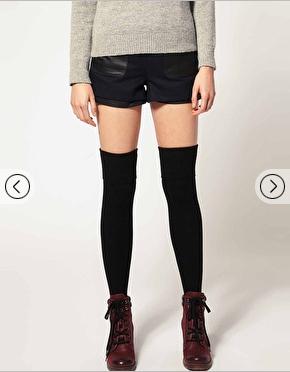 falke over the knee socks